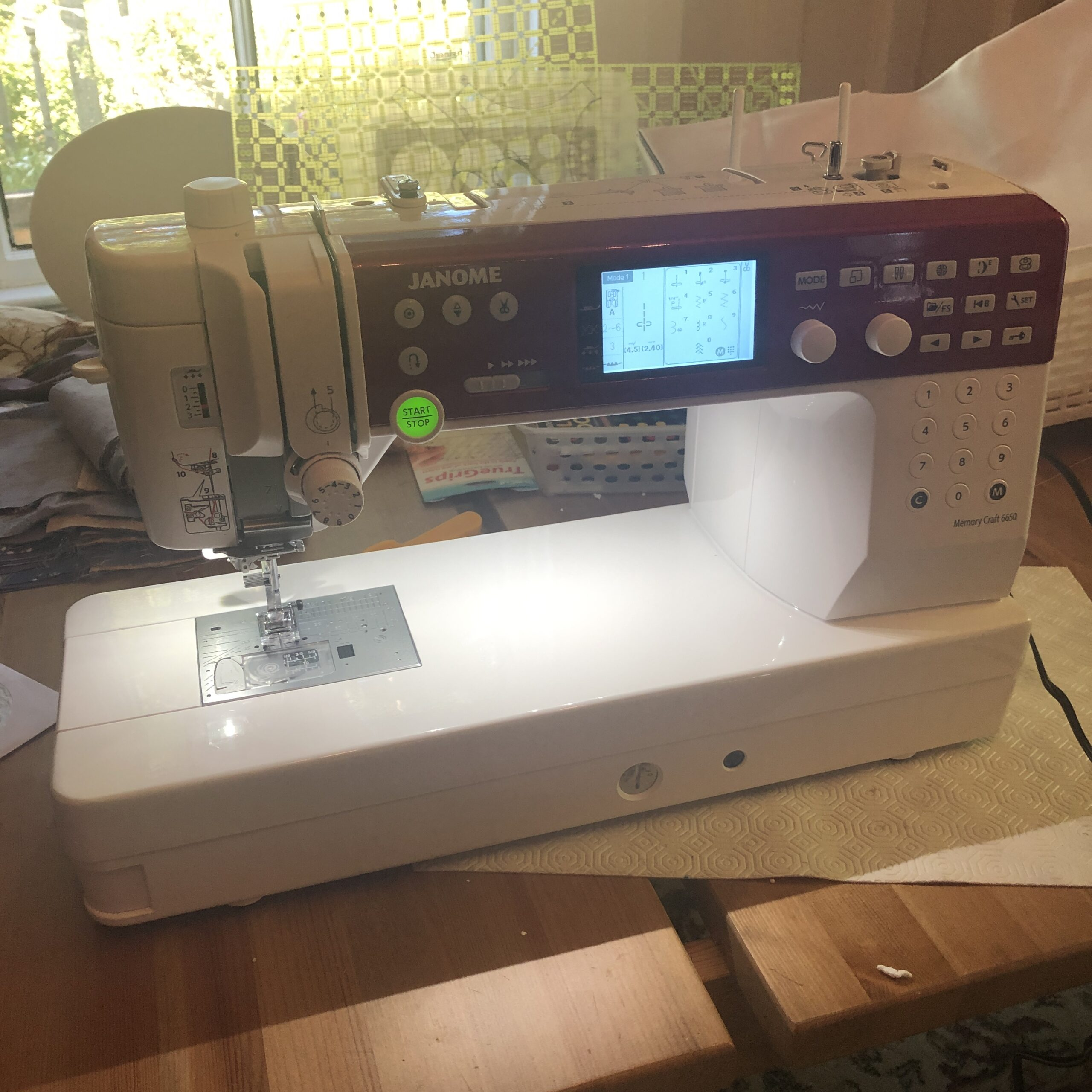 New Sewing Machine!!!!