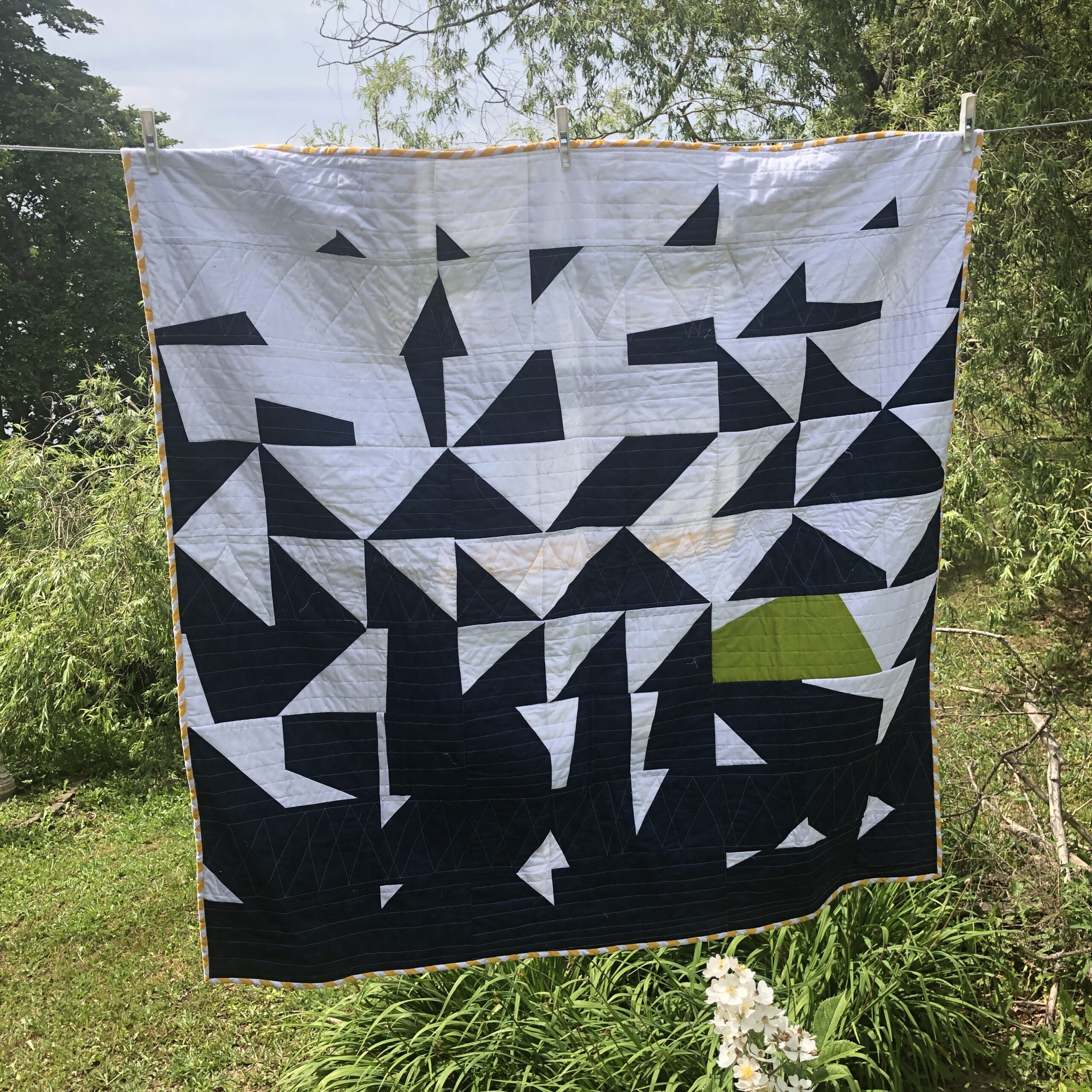 Shattered Quilt — covid quilt #2
