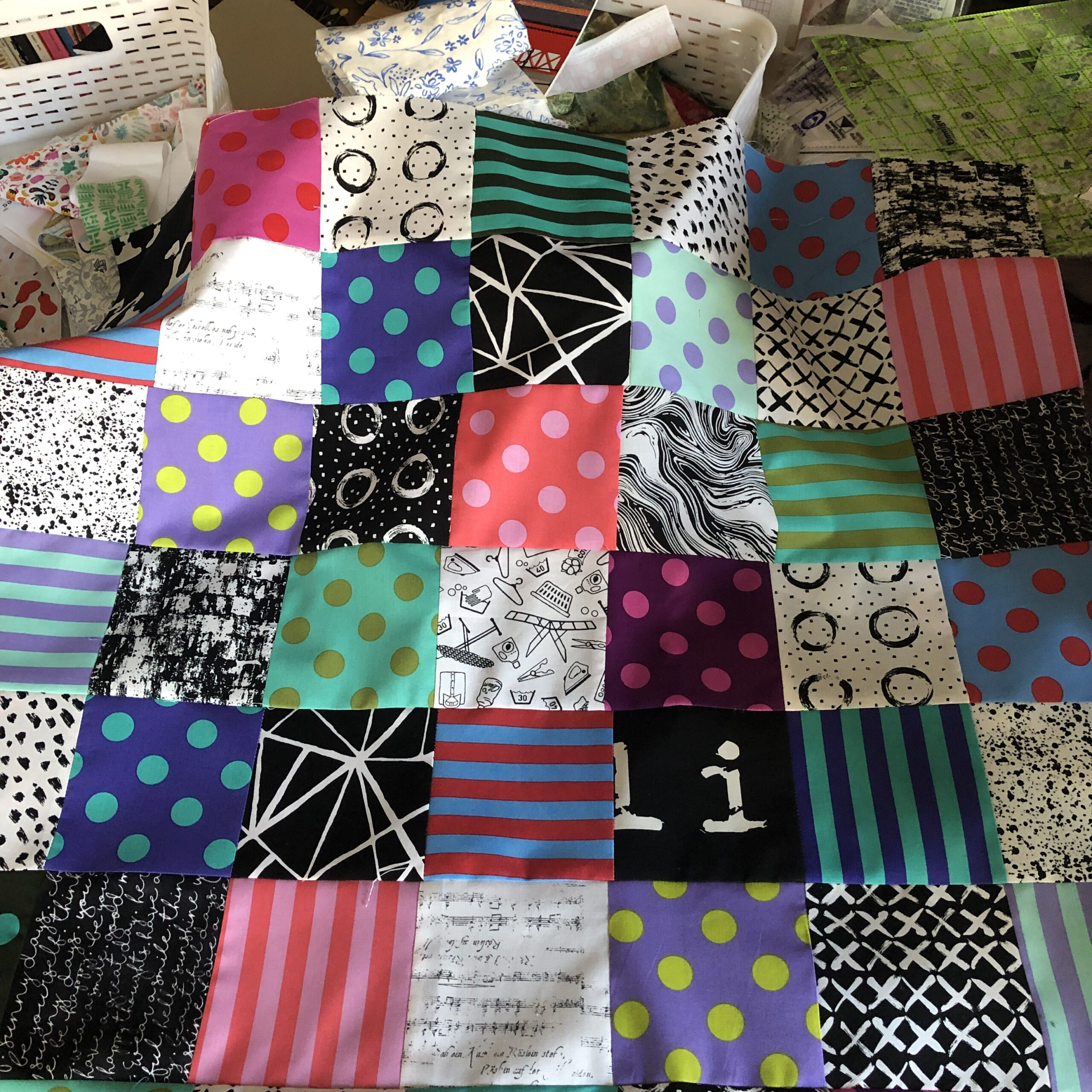 First quilt of 2021!