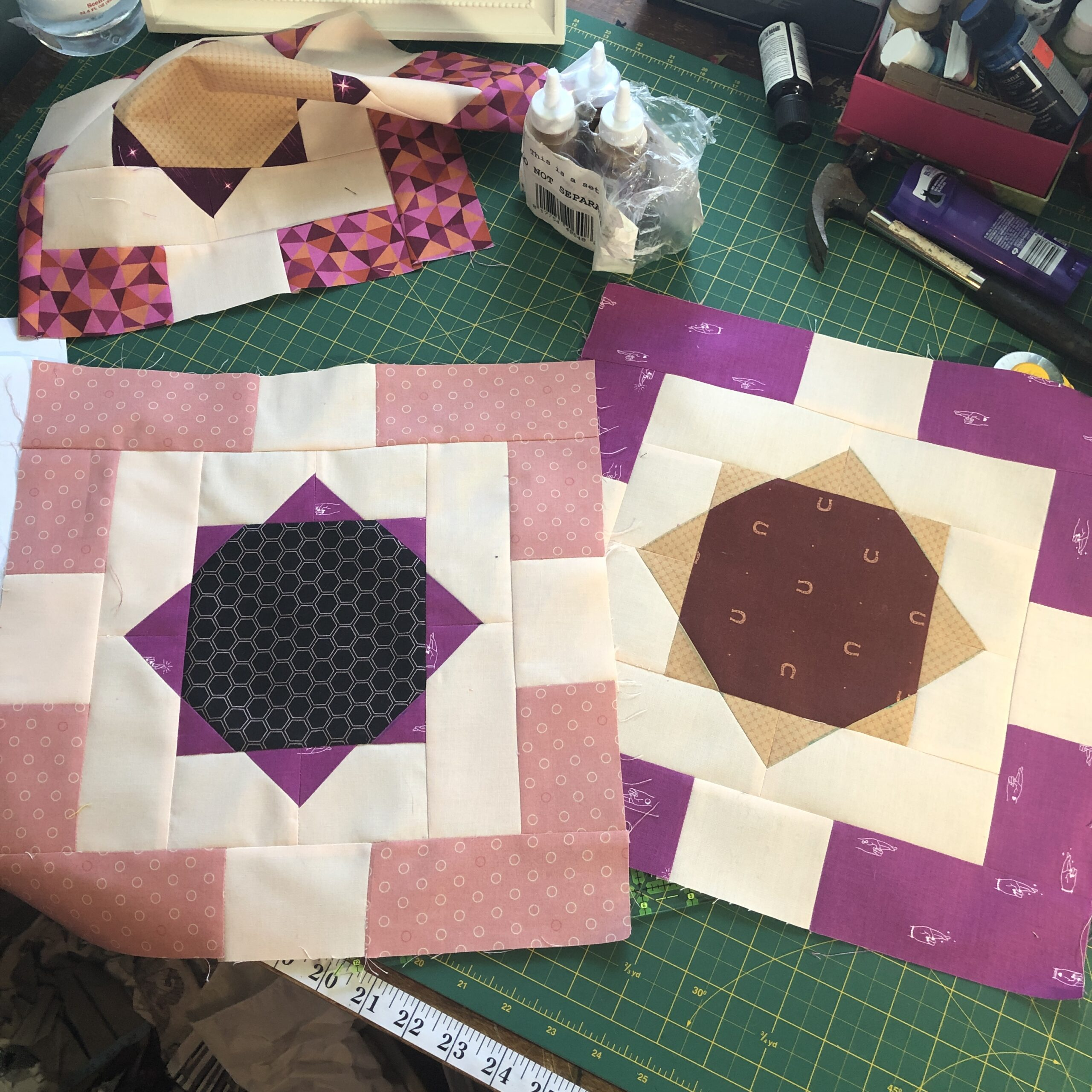 Old Muscat Souk quilt started