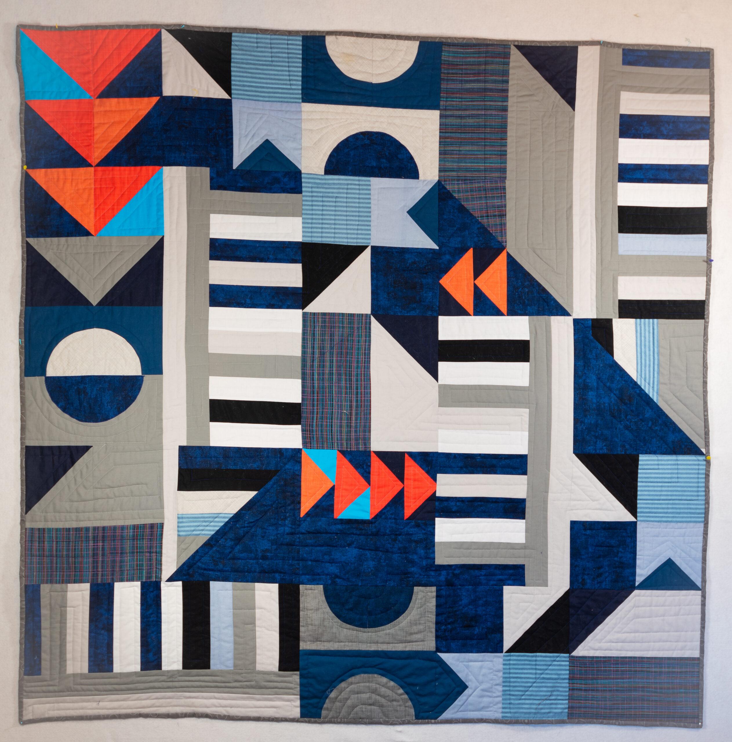 Bauhaus I Quilt finished